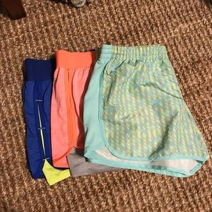 DANSKIN running shorts - size large!